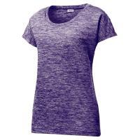 OEM Custom  Sport Shirts For Women Lightweight Moisture - Wicking Machine Washable