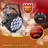 China Stage Light Tour LED Par 14x3W Showtec IP67 Outdoor LED Par 64 on sale