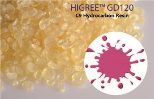 China Peignez les résines résistant à l'acide HIGREE™ GD120 de résine ambre de l'hydrocarbure aromatique C9 on sale