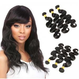 China 3 Bundles Brazilian Body Wave Weave Bundles Full Cuticle 7A Brazilian Virgin Hair on sale
