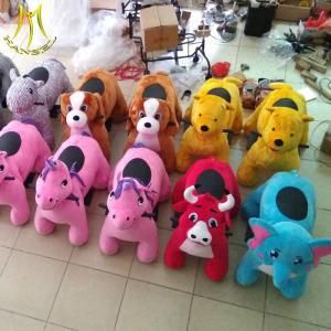 China Hansel  plush walking unicorn electric animal toy  electric bikes ride for sale on sale