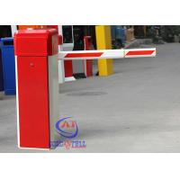 China Entrance And Exit Boom Barrier Gate , Cold Steel Intelligent Car Barrier Gate on sale