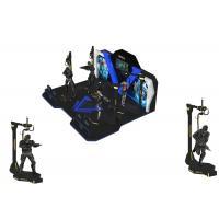 Theme Park Kat Walk Virtual Reality Interactive Games With 360 ° Rotating Platform