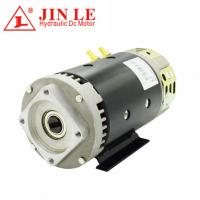 China Power Unit Direct Drive Motor ,  3.5KW 24V Hydraulic Motor With 100% Copper Wire on sale
