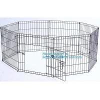 Manufacturer wholesale stainless steel metal large small foldable carriers cheap pet dog cage, Large Steel Dog Cage For