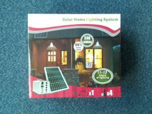 China Multifunction 20 Watt Solar Home Lighting System , Solar Energy Home Systems on sale