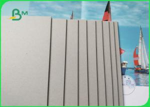 China AA grade 1mm 1.5mm Thick Grey Board Paper For Hardcover Environmentally Friendly on sale