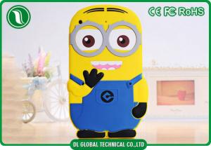 China 3D Despicable Me Minion iPad Mini Case , 7 Inch Silicone Tablet Case on sale