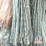 Hot Sale 2715 Insulation Glass Fiber Sleeving Goated With PVC