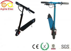 China Lightest Stand On Kids Electric Scooter Foldable With LED Light Control Unit on sale