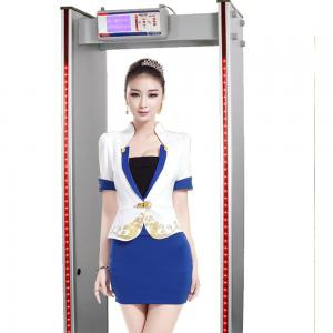 China 6 Zone and 18 Zone switchable Intelligent Walk Through Metal Detector Price MCD600 on sale