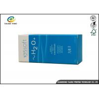 OEM Sliver Paper Packaging Box For Essence / Perfume / Empty Cigarette Pack
