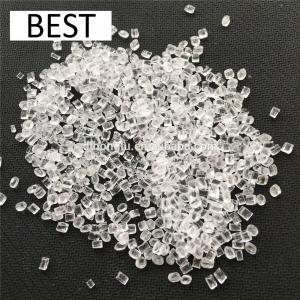 China Virgin & Recycled PET plastic resin/PET Flakes/PET granular for water bottle grade on sale