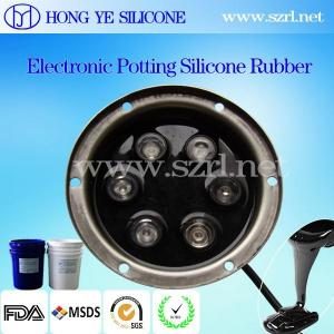 China heat conductive electronic potting compound/silicone rubber for power lower price on sale