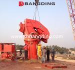 BANGDING 5t30m Folding Boom Crane Knuckle Boom Marine Deck Crane