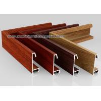 Custom Wood Grain Copy Aluminium Picture Frame Mouldings Profiles