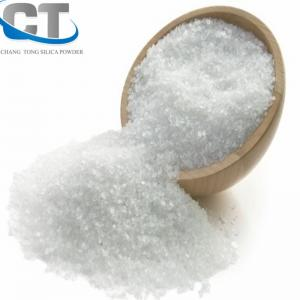 China Epoxy resin, pouring quartz rubber Fused silica powder on sale