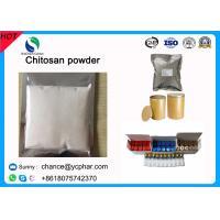 China Cosmetic Grade Chitosan White Crystal Chitosan Powder CAS 9012-76-4 on sale