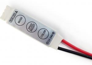 China 12A Mini RGB LED Strip Controller Multi Color 144W Dynamic Mode With Four Pins on sale