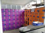 Plastic Gym Lockers Wtih Master Combination Padlock , 4 Tier Employee Storage Lockers