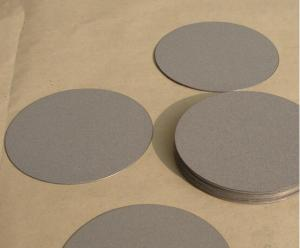 China 2015 hot sale Titanium Stainless Steel Sintered Filter Disc for Sale on sale