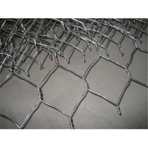 China 3/4 Inch PVC Coated Gabion Box , Bird / Chicken Wire Netting 0.5m-2m Width on sale