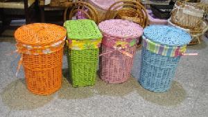 China Rattan Storage Basket (multi color) - 1 on sale