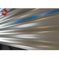 0.12 - 0.2mm Colour Coated Roofing Sheets Galvanized For Xcmg Spares Parts