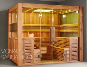 Quality Monalisa M 6046 Sauna Room Canadian Cedar Wood Luxury Enclosure Traditional