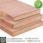 Sapele,Red oak/veneer faced Blockboard