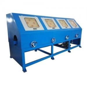 China Safe Operating Automatic Buffing Machine , Sheet Polishing Machine PLC Control on sale