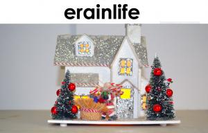 China SGS Christmas House Decoration Accessories Lighting Beautiful House on sale