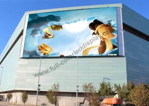 China 1/8 Scan Full Color Led Display Video Wall , Outdoor Led Screens With Linsn Or Nova Card on sale