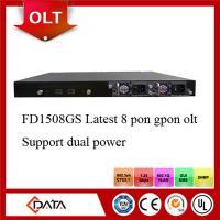 8PON GPON OLT, port FTTH GEPON OLT compatible with Huawei,ZTE,Fiberhome FTTH GPON ONT