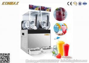 China 300W 15L×2 Ice Slush Machine With Double Tank For Making Beverage , 110V - 115V on sale