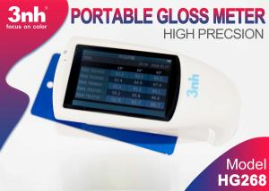 China HG268 Portable Tri - Angle Gloss Meter 3.5 Inch Touch Screen For Paint Gloss Inspection on sale