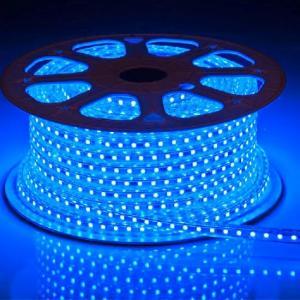 China LED Strip 220V , 230V , 240V Waterproof 5050 SMD LED Warm , Day White , Blue on sale