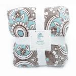 Healthy Warm Flannel Print Blanket / Super Soft Plush Blanket 100% Polyester