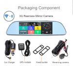 7 Inch HD1080P Auto Rear View Mirror 140-170 Degree Wide View Angle