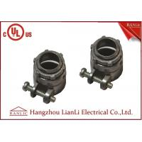 Flexible Conduit Straight Squeeze Connector Electrical Zinc Die Casting UL Approvals