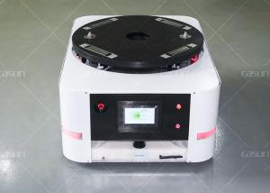 China Auto Charging QR Code Inertial Navigation AGV Warehouse Automation L850*W600*H320mm on sale