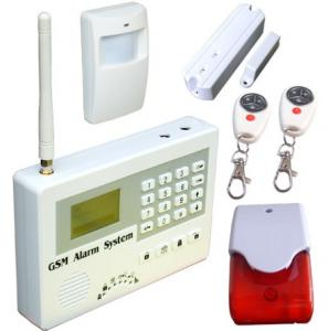 China GSM alarm system,SMS home security alarm.anti-theft,burglar alarm,fire alarm,gas alarm.24 hours armed S110 on sale