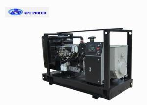China 3 Cylinder Inline 400V Lovol Diesel Generator Rental with Chassis Fuel Bank on sale