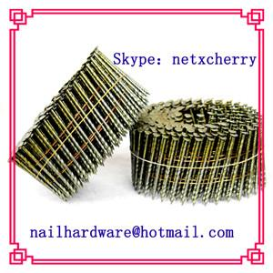 China Wire pallet coil nails supply on sale