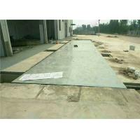 China U Beam Girders Pit Type Weighbridge System Printer Load Cells Auto Tare Clearing on sale