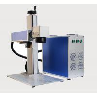 China 20W Portable Fiber Laser Marking Machine with 110*110mm Marking Range on sale