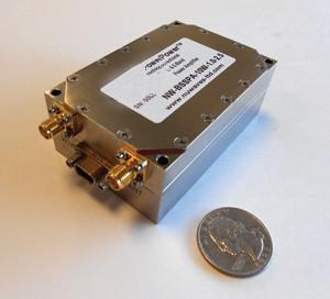 China 340MHz Professional Backpack UAV Video Transmitter RF Power Amplifier Model ESCW - 4565-2.5 on sale