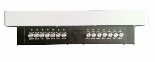 DZ-808M-C-14 4g Cell Phone Jammer With 2 Fans , 3-4 Watt Per