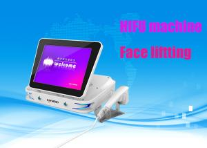 China 3D High Intensity Focused Ultrasound Face Lift Machine For Double Chin on sale