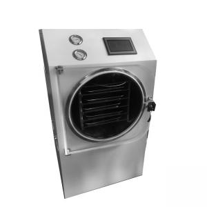 China High Efficiency Home Food Freeze Dryer , 0.6m2 Freeze Dried Food Machine on sale